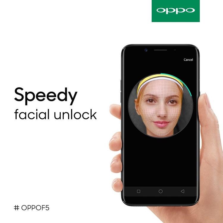 OPPO - F5 - Facial Unlock