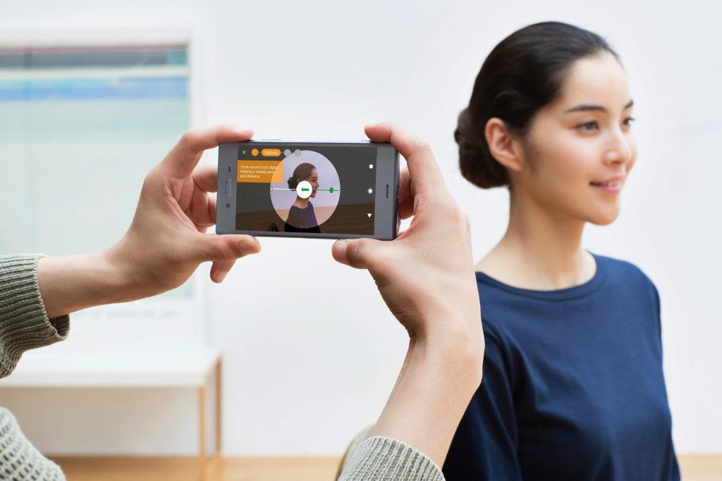 Sony Xperia XZ1 - 3D Scan