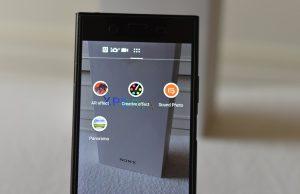Sony Xperia XZ1 -Camera Effect inc;luding AR Effect