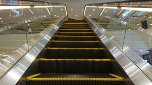 Sony Xperia XZ1 - Rear Camera - Clicked on moving escalator in DFC, Dubai