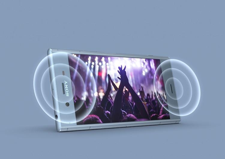 Sony Xperia XZ1 - Stereo Sound speakers