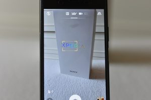 Sony Xperia XZ1 - Text detection