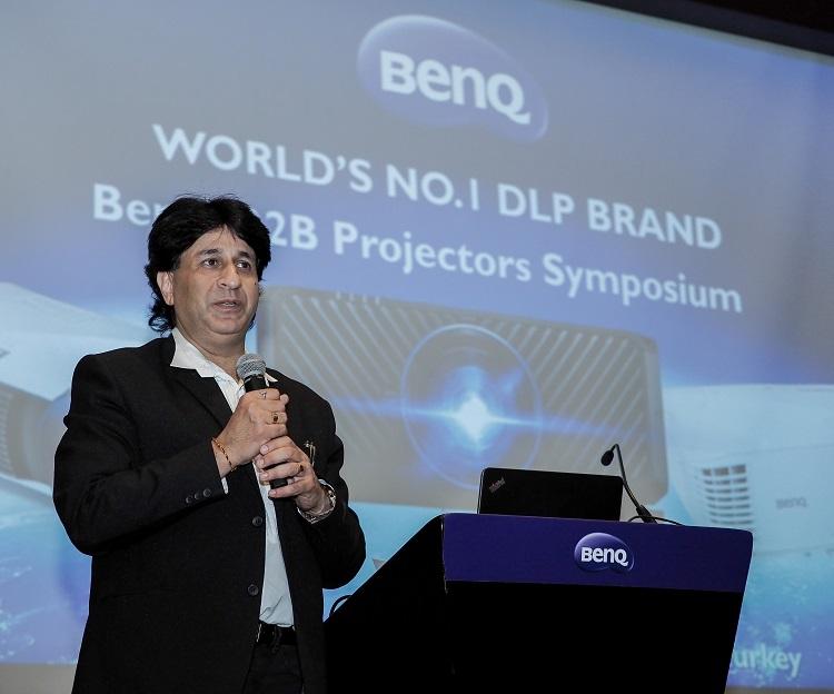 Manish Bakshi, Managing Director BenQ Middle East & Turkey at BenQ Launch Event
