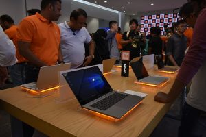 Mi Laptops are now available to purchase at the New Xiaomi store in City Center Deira