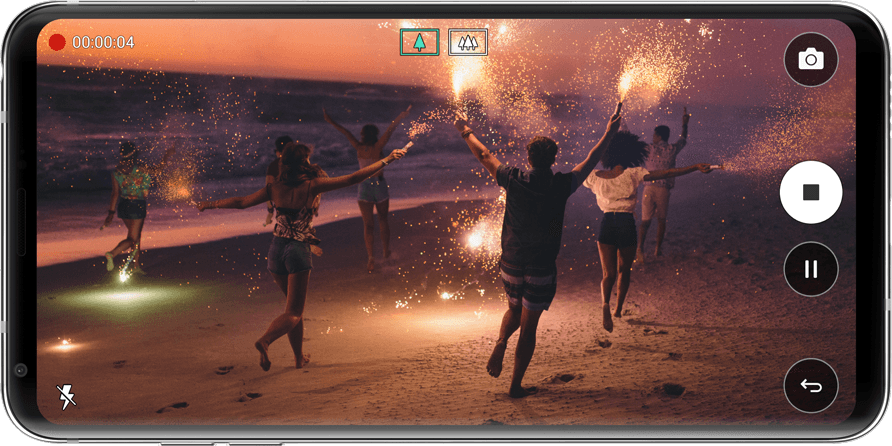 LG V30+: QHD+ (2880 x 1440) OLED FullVision display