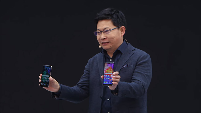 Richard-Yu-unvielled-Huawei-P20-&-P20-Pro-smartphones-in-Paris