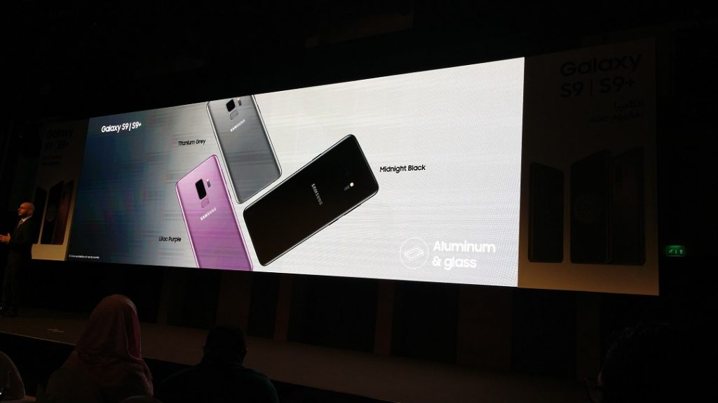 Samsung S9- colors