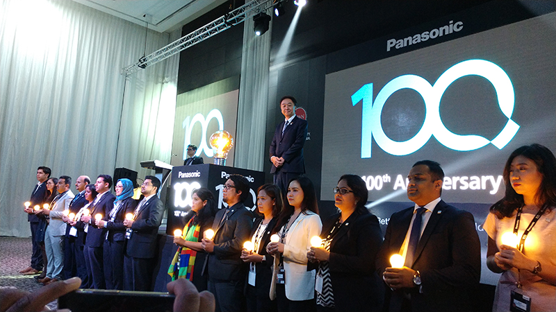 At-the-Panasonic-yearly-convention-celebrating-100th-year