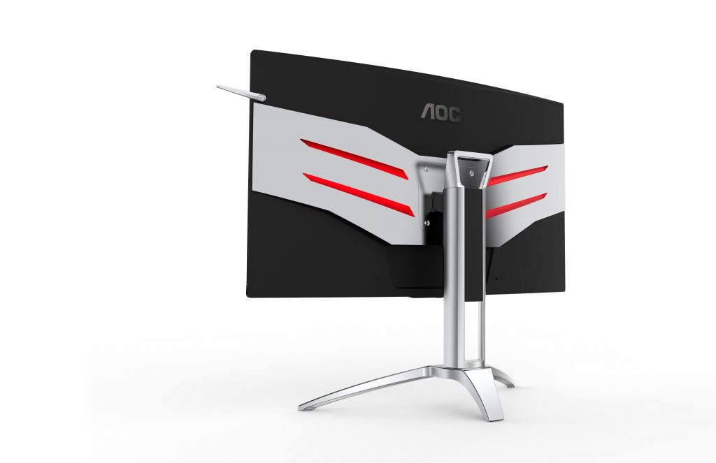 AOC AGON AG322QCX Gaming Display (Back)