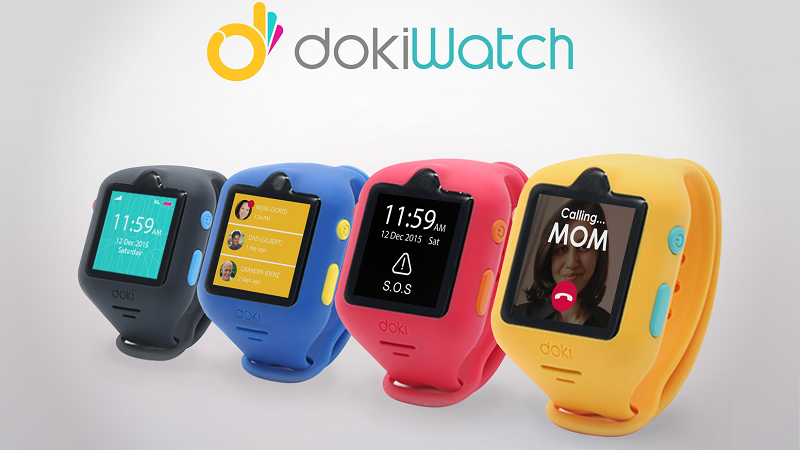 Different color of Doki Watches for Kids