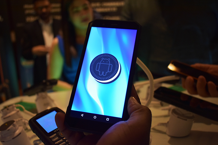 XTouch's-XBot-Senior-Smartphone runs on Andriod 8.1 OS (Oreo)