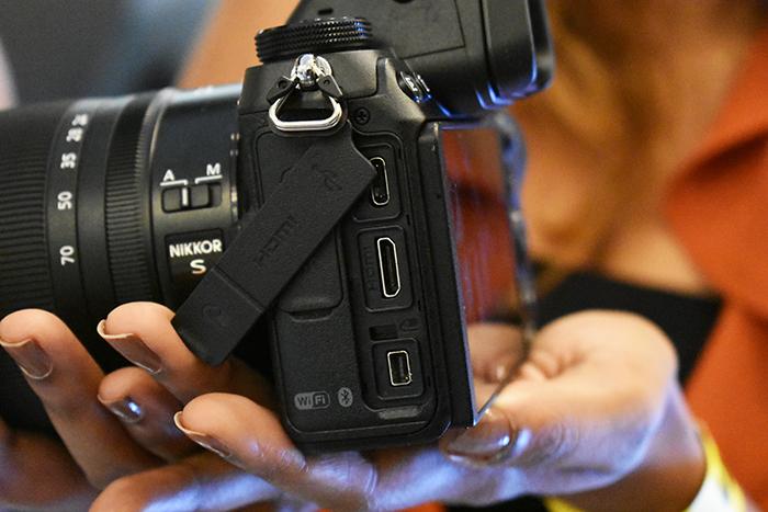 Nikon_Z7 & Z6 has a similar body and Ports