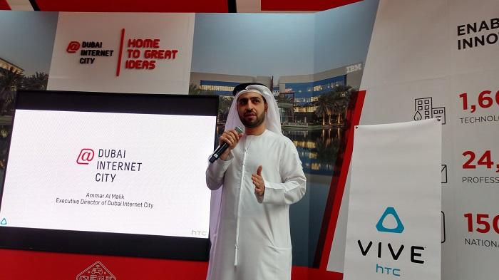 Ammar Al Malik, Executive Director of Dubai Internet City