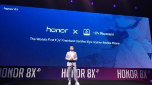 Honor 8X - certified by TÜV Rheinland