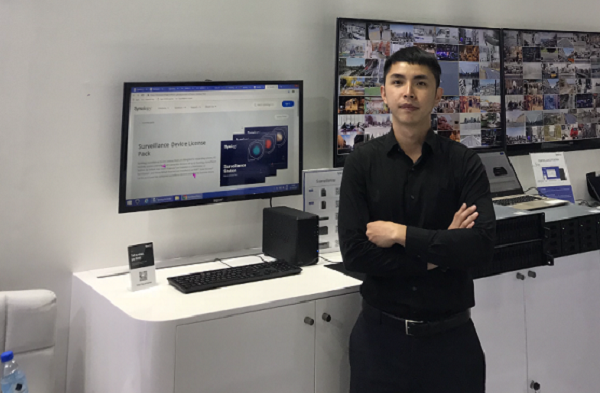 Nick Jheng, Synology at GITEX 2018-1