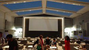 Opening day of VOX Cinema Outdoor
