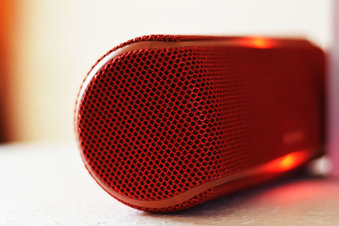 Sony-SRS-XB21-Made of MCR material with special fabric which a premium looks