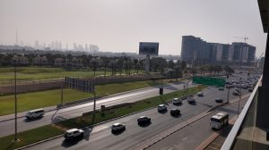 View from Aloft Hotel At City Center Deira