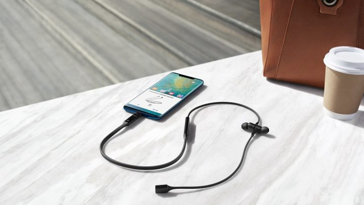 Huawei has recently launched FreeLace (Wireless Earphones)in the UAE