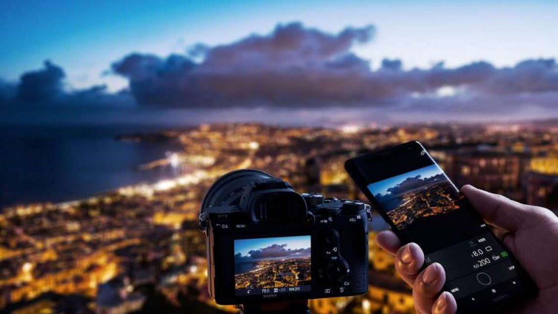 """Sony announced the release of a new """"Imaging Edge™"""" mobile application for Sony Cameras in the UAE"""
