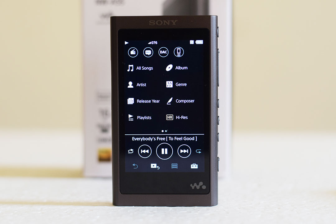 Sony Walkman® NW-A55