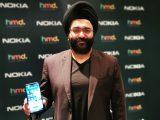 Sanmeet-Singh-Kochhar-with-Nokia-7.2-smartphone
