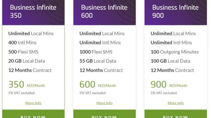 Now Business Owners Can Make Unlimited Local Calls Across UAE On The 'Business Infinite' Postpaid Plan
