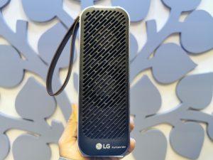 LG Electronics PuriCare Mini Air Purifier comes with Twin Tornado Dual Fans