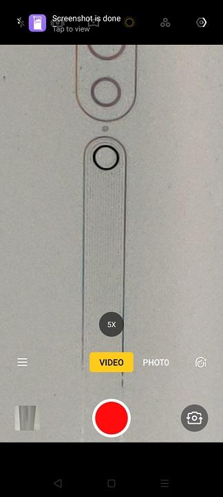 Oppo Reno2 -5x mode for Video