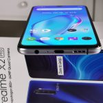 Realme X2 Pro Smartphone -Bottom-USB Type- C (VOOC) charging input, speaker grills, mic, and 3.5mm jack output
