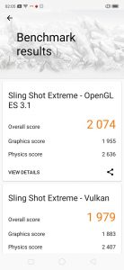 Realme5Pro-3DMark Benchmark Score