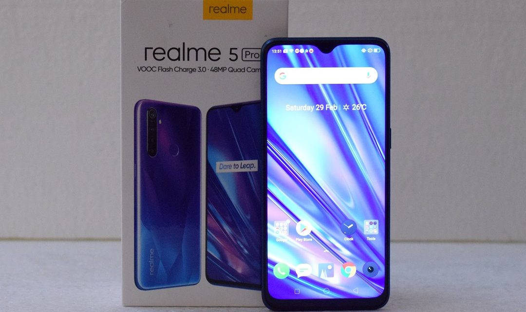 Review of Realme 5Pro Smartphone in UAE (Model RMX1971)