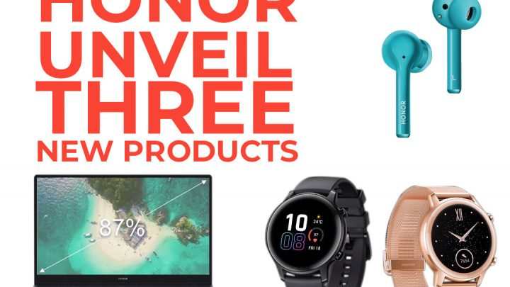 HONOR Unveiled Magic Earbuds, Magic Book & Updated New MagicWatch 2 During A Live Stream Event