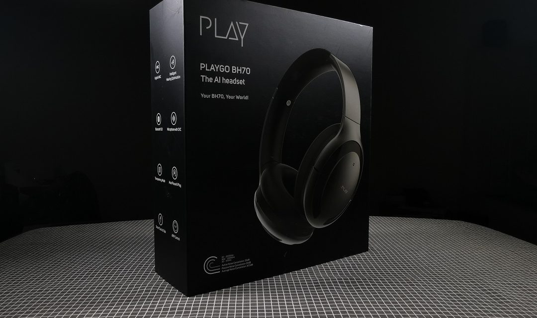 Review of PLAYGO BH70 Wireless Headphone which recently released in UAE