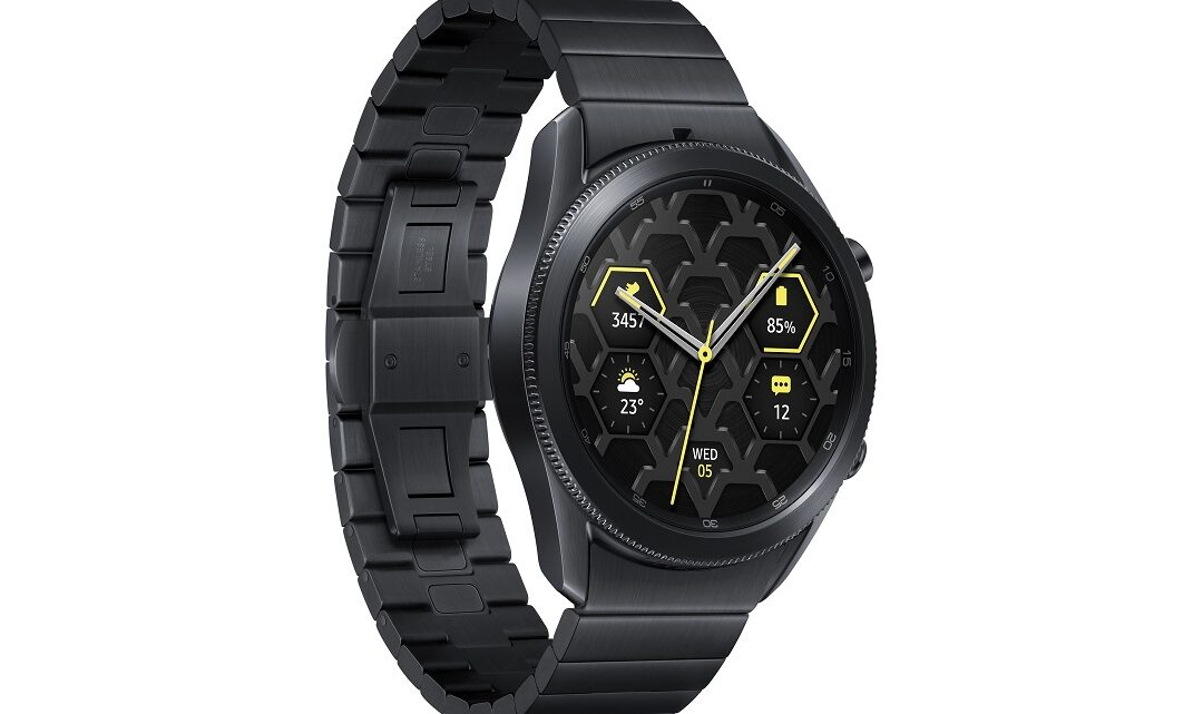 Samsung Launches the Galaxy Watch3 Titanium for the UAE Market