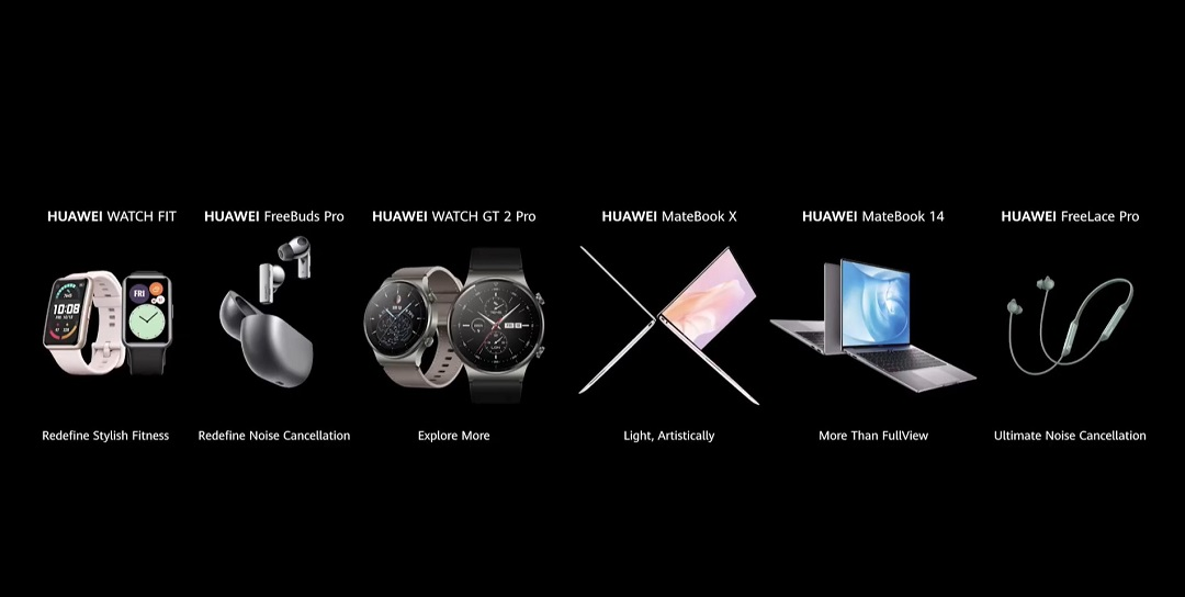 Huawei launches 6 Products at Seamless Al Life New Product Global Launch Event
