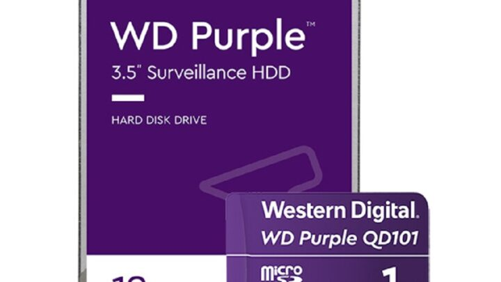 Western Digital announces 18TB Purpler Hard Drive with Al Enable Video Recording Systems Market