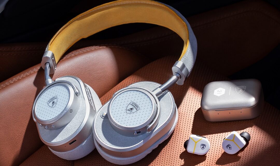 Automobili Lamborghini partners with Master &  Dynamic on new headphones and earphones collection
