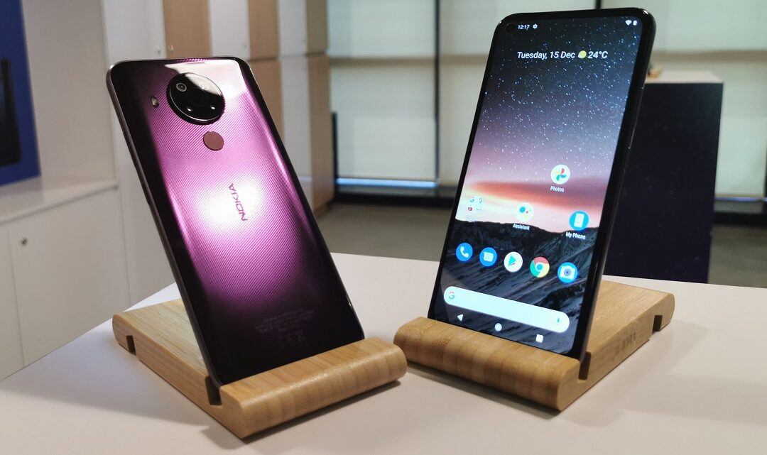 HMD Global launches Nokia 5.4 Smartphone in the UAE