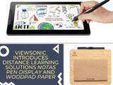 ViewSonic- Notas_Pen Display & WoodPad Paper