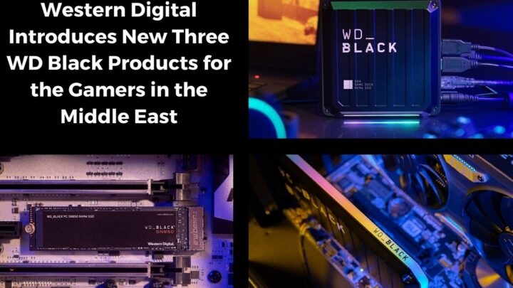 Western Digital Introduces New Three WD Black Products for the Gamers in the Middle East
