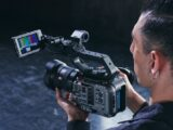 Sony FX6 full-frame 4K camera- hand held
