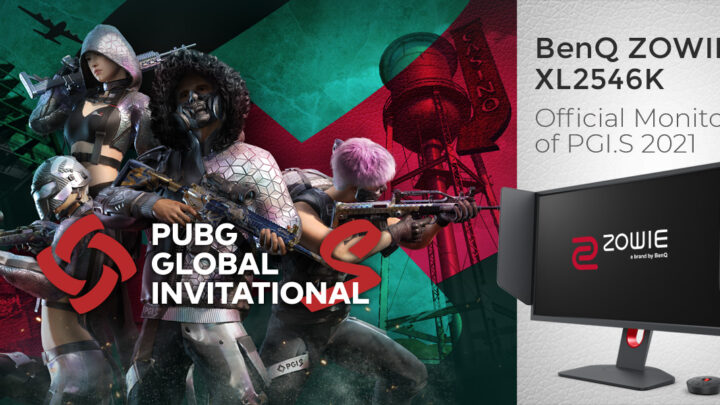 BenQ ZOWIE's XL2546K Gaming Monitor Is The Official Monitor Of PUBG Global Invitational.S 2021