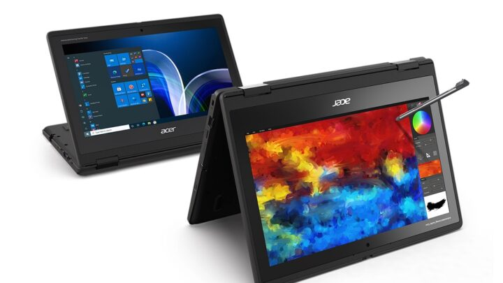 Acer Unveils Tough New TravelMate Spin B3 Laptop for Education Sector