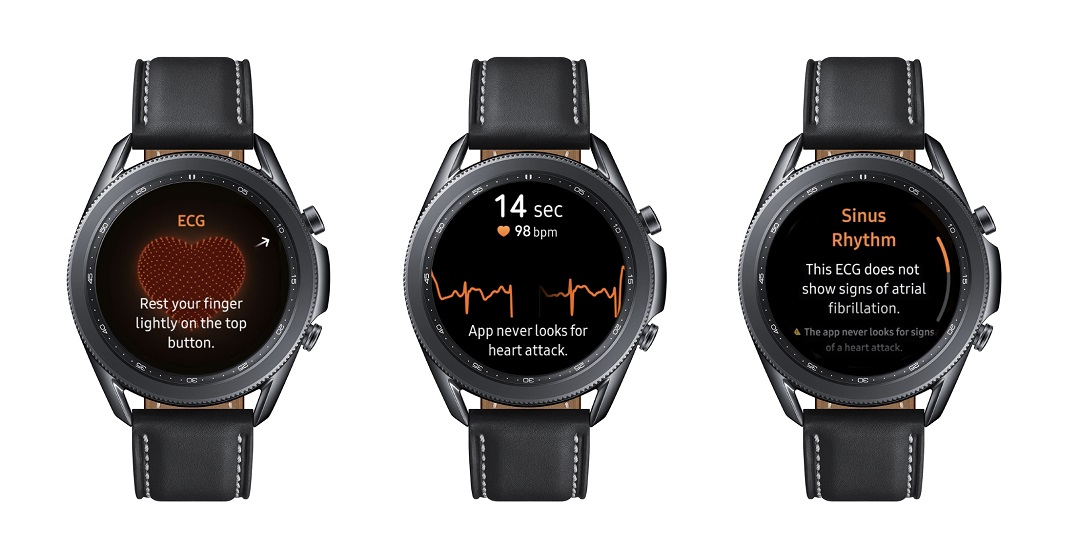 Samsung introduces Vital Blood Pressure and Electrocardiogram Tracking to the Galaxy Watch3 and Galaxy Watch Active2 in 31 countries, including the UAE