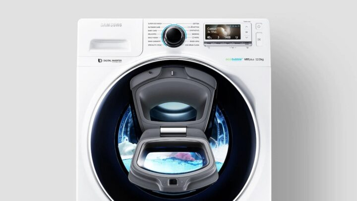 Samsung's next-generation Front Loading Washing Machine with AddWash